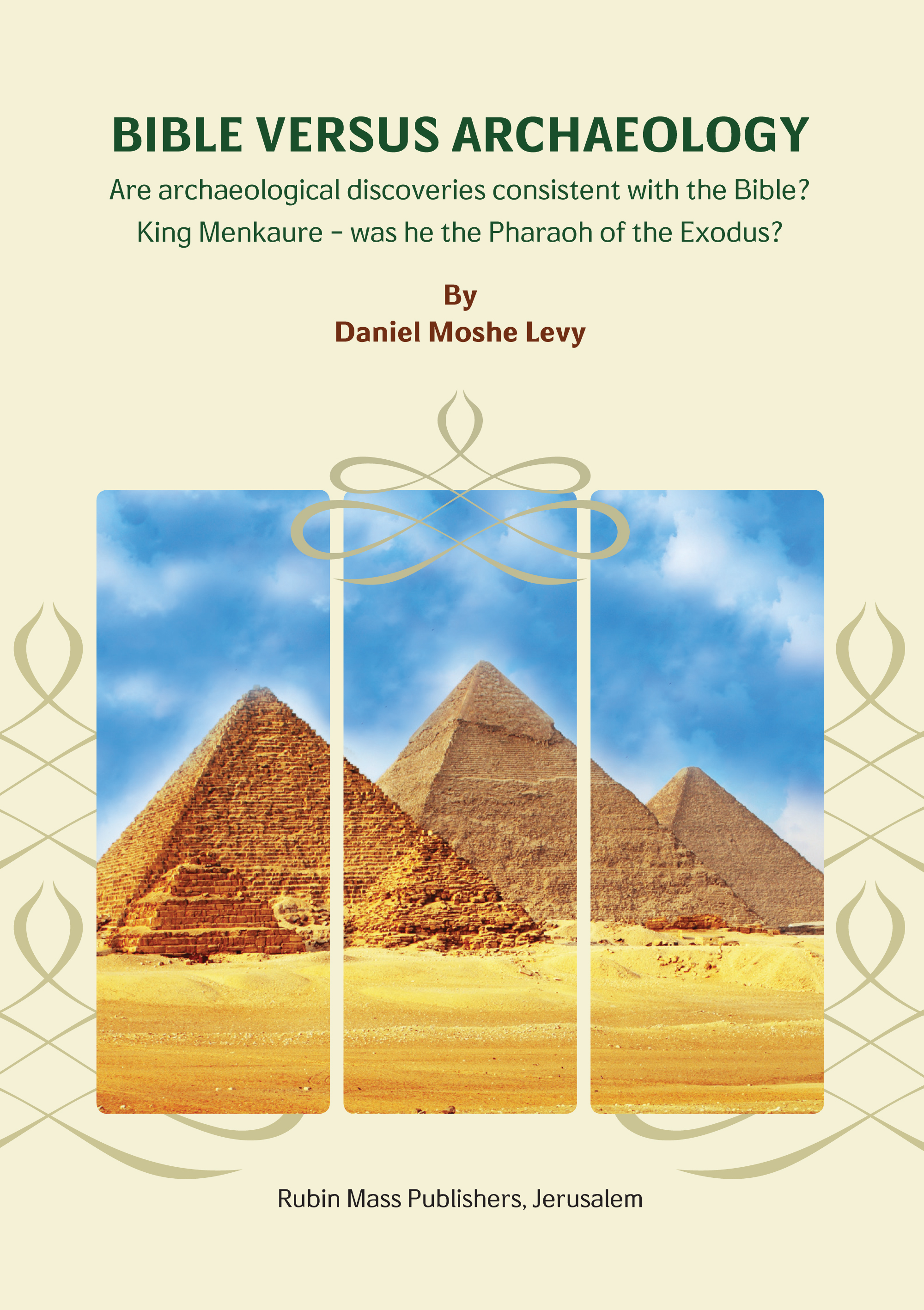 Bible Versus Archaeology / Levy,Daniel Moshe